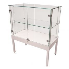 RETAIL DISPLAY CABINET - COUNTER DISPLAY CABINET : Counter display cabinet with glass door
