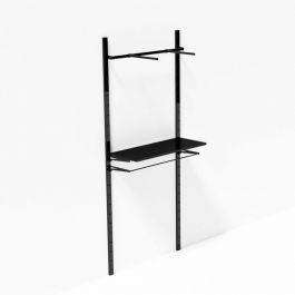 RETAIL DISPLAY FURNITURE - WALL GONDOLAS : Display shelves for retail store 1 meter