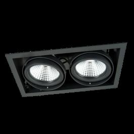 LAMPADE SPOT PER NEGOZI - FARETTI DA INCASSO LED : Faretti da incasso led 3000 kelvin