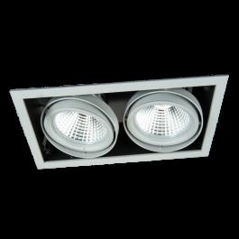 LAMPADE SPOT PER NEGOZI - FARETTI DA INCASSO LED : Faretti da incasso led 4000 kelvin