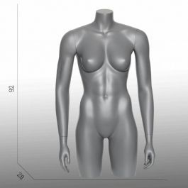 FEMALE MANNEQUIN BUST - SPORT TORSOS AND BUSTS : Female sport torso mannequin