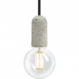 RETAIL LIGHTING SPOTS - SUSPENDED LED LIGHTS : Filament pendant lamp