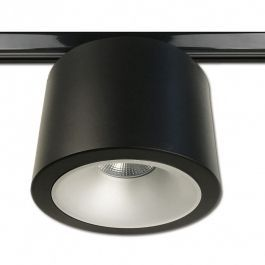 SISTEMAS DE LAMPARAS PARA NEGOCIOS - SPOT EN RIEL LED : Foco led philips negro 3000 kelvin