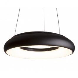 LAMPADE SPOT PER NEGOZI - LAMPADE A SOSPENSIONE : Lampada led professionale sospensione nera 4000 kelvin
