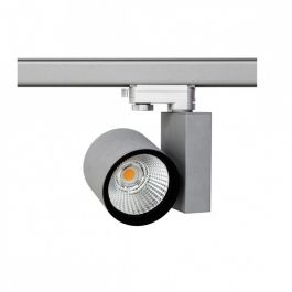 PROFESSIONELL SPOT LAMPEN : Led 30w schienenstrahler 3-phase grau