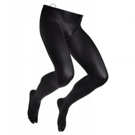 ACCESSORIES FOR MANNEQUINS - MALE LEG MANNEQUINS : Male leg mannequin to hang with hook black color