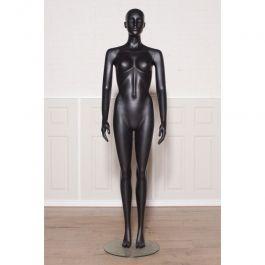 Manichini astratto  Manichino da donna senza vernice nera Mannequins vitrine