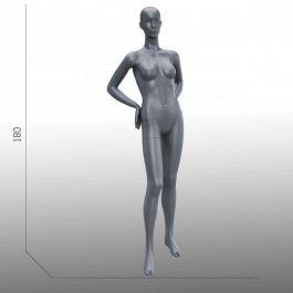 MANICHINI DONNA - MANICHINI ASTRATTO  : Manichino donna astratto grigio
