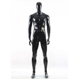 MANIQUIES HOMBRE : Maniqui caballero negro con cabeza