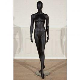 MANNEQUINS VITRINE FEMME - MANNEQUINS ABSTRAITS  : Mannequin de vitrine femme abstraite couleur noire