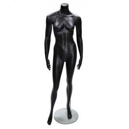 MANNEQUINS VITRINE FEMME - MANNEQUIN SANS TêTE : Mannequin femme sans tête opw5 hl black