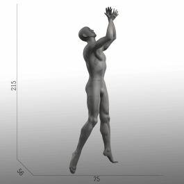 MANNEQUINS VITRINE HOMME - MANNEQUINS SPORT  : Mannequin vitrine basketball