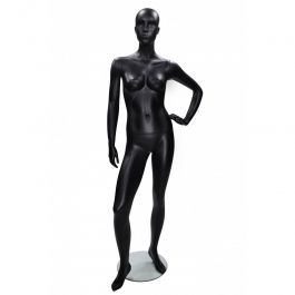 MANNEQUINS VITRINE FEMME - MANNEQUINS ABSTRAITS  : Mannequin vitrine femme opw14 merf black