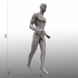 MANNEQUINS VITRINE HOMME - MANNEQUINS SPORT  : Mannequin vitrine homme marche nordique
