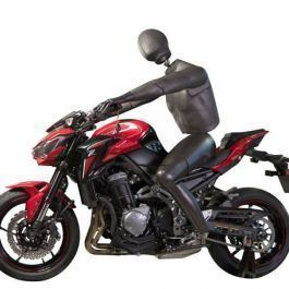 MALE MANNEQUINS - FLEXIBLE MANNEQUINS : Motorcycle flexible male mannequin