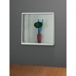 VITRINAS - VITRINAS MURALES : Mueble de pared aluminio 100x30x98 cm