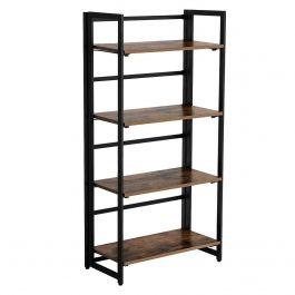RETAIL DISPLAY FURNITURE - STORAGE UNITS : Multifunctional storage shelf 4 levels