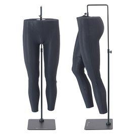 ACCESSOIRES MANNEQUIN VITRINE - JAMBES MANNEQUINS VITRINE : Paire de jambes de mannequin flexible homme