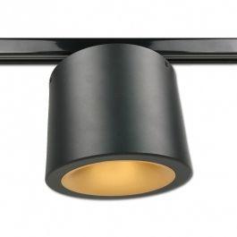 RETAIL LIGHTING SPOTS - TRACKLIGHT SPOTS LED : Philips led spot black triphase 2200 kelvin