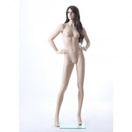 FEMALE MANNEQUINS - MANNEQUIN REALISTIC : Realistic female mannequin hands on hips