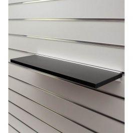ARREDAMENTO NEGOZI - SCAFFALATURE : Scaffale nero 60 x 20 cm