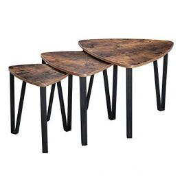 RETAIL DISPLAY FURNITURE - TABLES : Set of 3 nesting table vintage