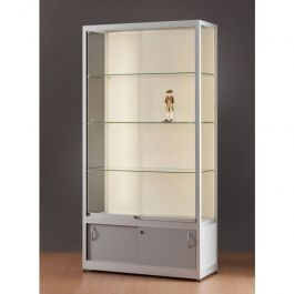 RETAIL DISPLAY CABINET - SHOWCASES WITH LIGHTING : Showcase for store 100cm