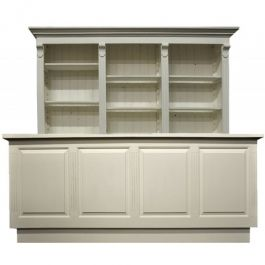 COUNTERS DISPLAY & GONDOLAS - CLASSICAL COUNTERS DISPLAY : White counter display 603