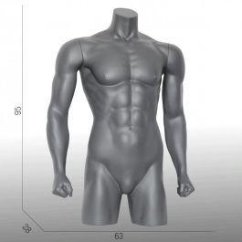 BUSTE MANNEQUIN HOMME - TORSO MANNEQUIN : Torse mannequin homme sport