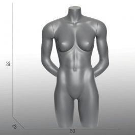 BUSTE MANNEQUIN FEMME - BUSTES TORSOS SPORT : Torso mannequin sport femme bras dans le dos