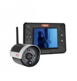 CASH REGISTER & SECURITY PRODUCTS - CCTV : Video camera and screen