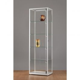 Vitrines colonnes Vitrine avec porte rotative en aluminium 60 cm 91000478 Mannequins vitrine