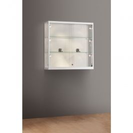 RETAIL DISPLAY CABINET : Wall store showcase 100cm 91000481