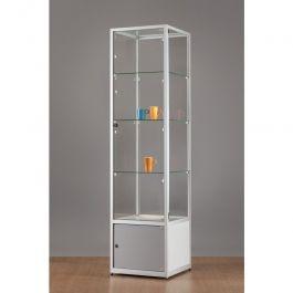 RETAIL DISPLAY CABINET - SHOWCASES WITH LIGHTING : Luxury vitrine case 50 cm