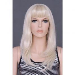 PROMOTIONS ACCESSORIES FOR MANNEQUINS : Wig mannequin blond woman y1176-613